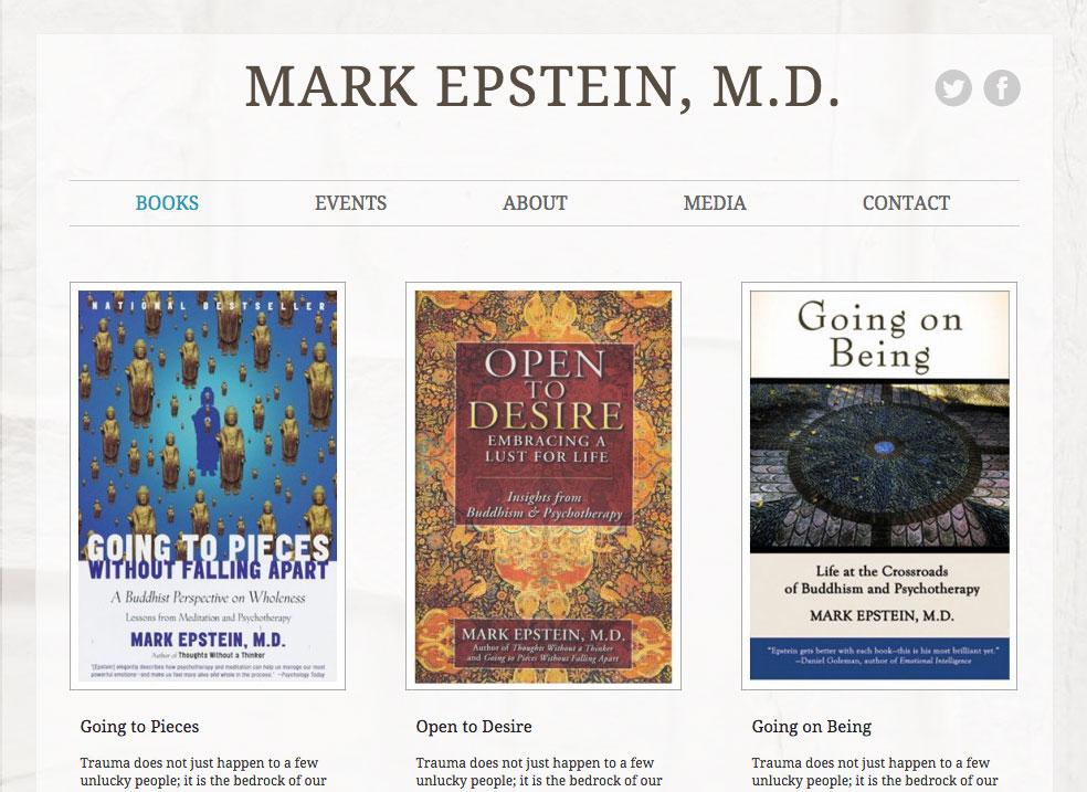 Mark Epstein, M.D